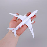 20cm simulation model of Boeing 777 787 aircraft alloy finished Airbus A380 airliner model ornaments