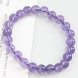 Happy married Jianlou live among multicolored crystal amethyst bracelet women's singles ring fashion jewelry bracelets ins