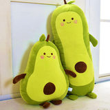 Avocado pillow plush toy doll cushion doll cute girl sleeping doll bed cloth net red super soft