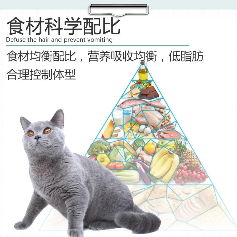 天然猫粮5斤2.5kg成猫幼猫食成猫流浪猫咪主粮老年猫粮三文鱼包邮优惠券