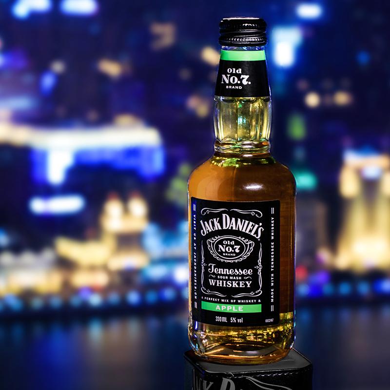 瓶组合 杰克丹尼田纳西州威士忌预调酒鸡尾酒可乐苹果柠檬味 6 330ml
