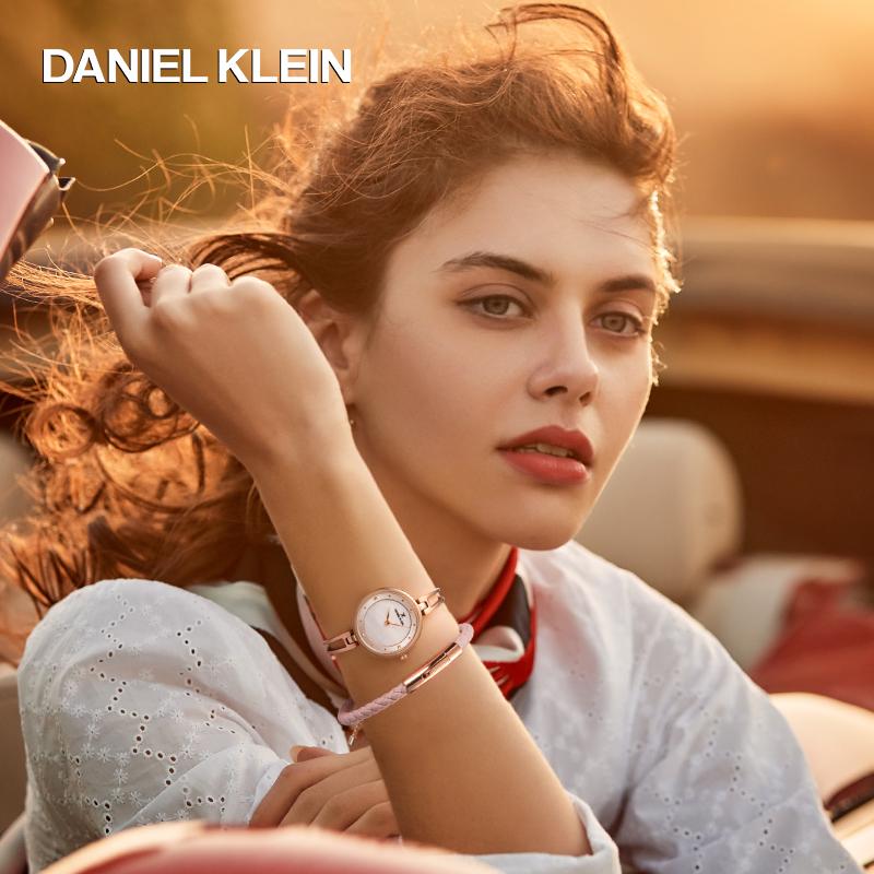 欧洲潮牌 Daniel Klein 女士石英手表手链套装