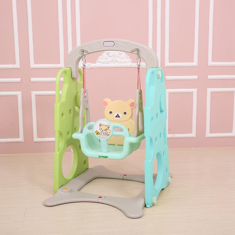 秋千滑滑梯儿童室内吊椅家用荡秋千宝宝摇椅滑梯秋千组合健身玩具