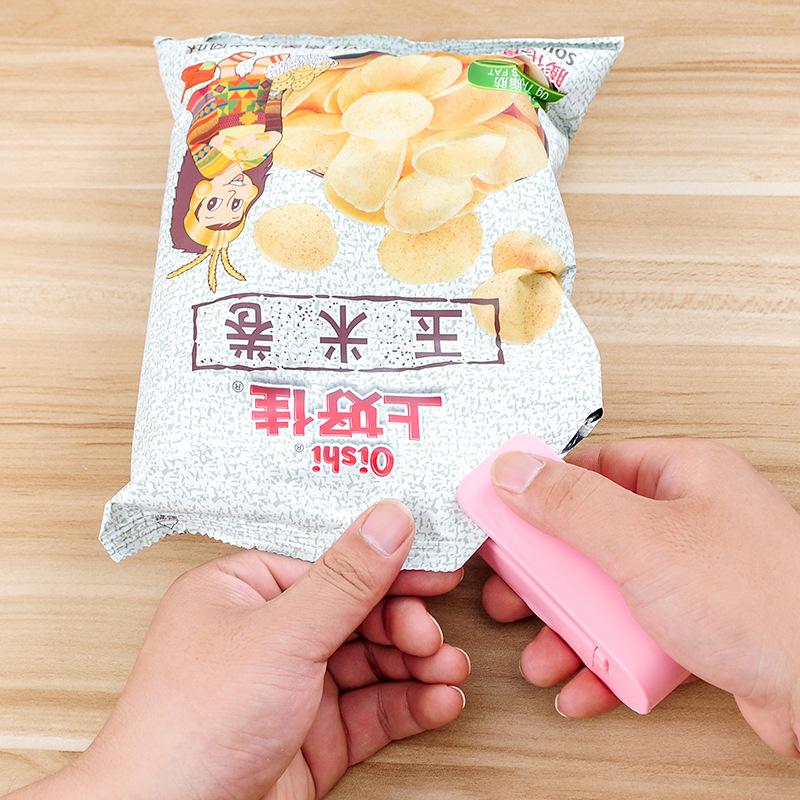 小型塑封机包装家用零食封口机塑料袋食品保鲜机包装抽真空封口机