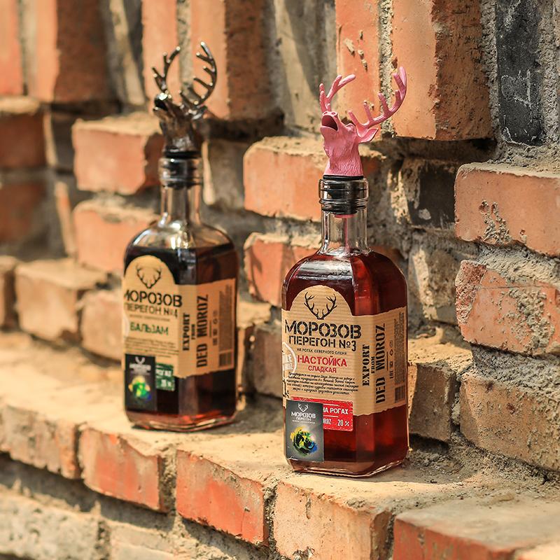 俄罗斯进口低度力娇酒 要 女主 号 3 莫罗 鹿头 酒杯 送伏特加 鹿头 3 鹿头 酒杯  送伏特加