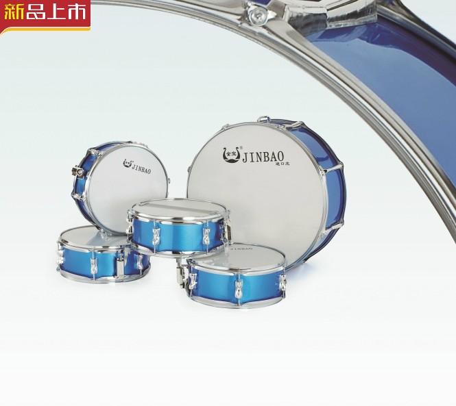 个表演鼓学生鼓行军鼓 4 英寸高档小军鼓 13 个 1 英寸大鼓 22 金宝乐器