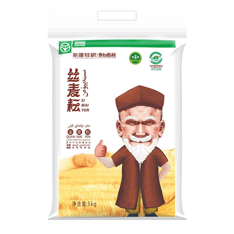 新疆全麦粉丝麦耘全麦面粉10斤