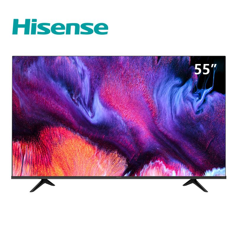 65 智慧全面屏电视机智能网络高清平板液晶彩电 4K 英寸 55 55E3F 海信