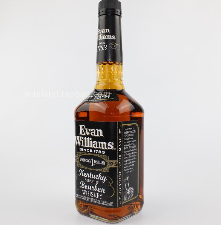 vol 43 美国爱威廉斯波本威士忌 whiskey bourbon williams Evan