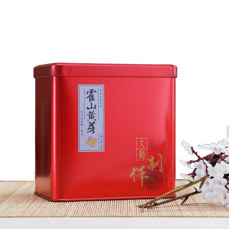 礼盒装 400g 新茶春茶送礼宏态源霍山黄芽茶叶原产地黄茶 2018