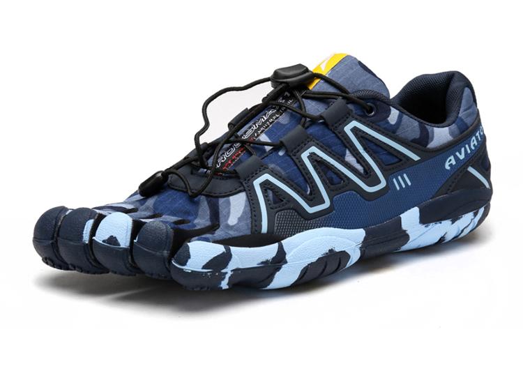 男五指鞋 eva 男姓迷彩鞋垫户外鞋袜登山鞋男子减震咖啡户外鞋男版
