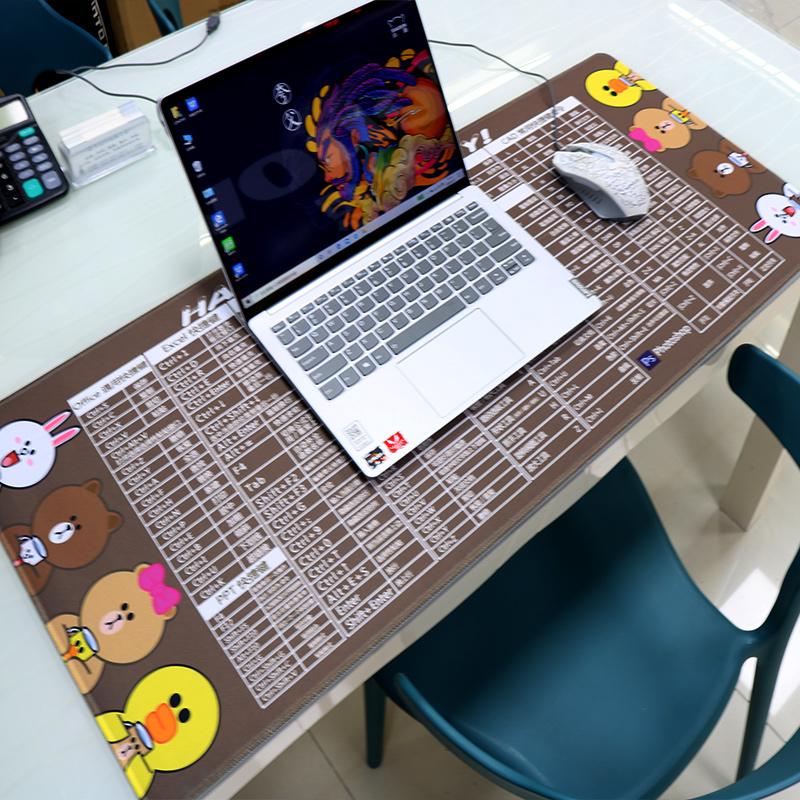 大号鼠标垫台式电脑垫子桌垫键盘
