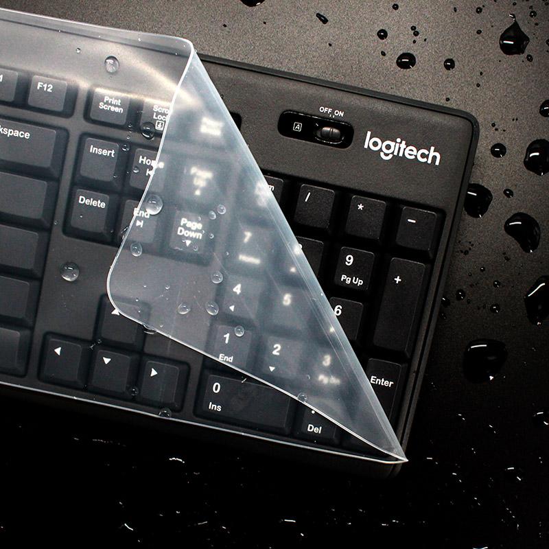 联想华硕戴尔hp小米苹果acer神舟战神雷神机械师笔记本电脑键盘保护贴膜15.6通用型14英寸台式垫全覆盖防尘罩