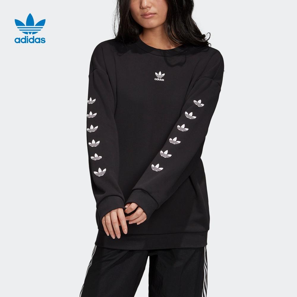 阿迪达斯官网 adidas 三叶草 女装运动卫衣FT1834 FT1835