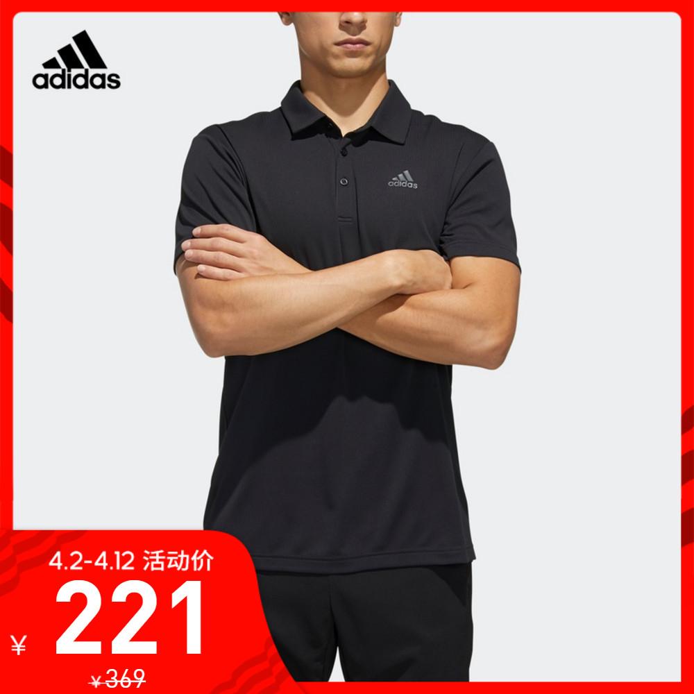 阿迪达斯官网adidas 男网球运动POLO衫FK1414 FK1416 FK1417