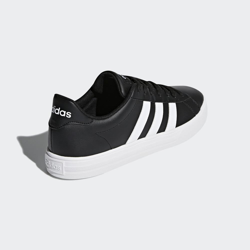阿迪达斯 adidas neo 男子 DAILY 2.0 休闲鞋 1号黑色 DB0161