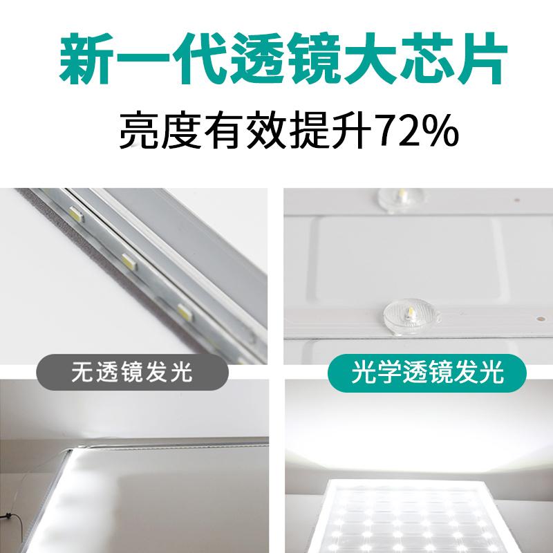 面板燈 60 60 鋁扣嵌入式天花燈石膏礦棉 600x600 平板燈 led 集成吊頂