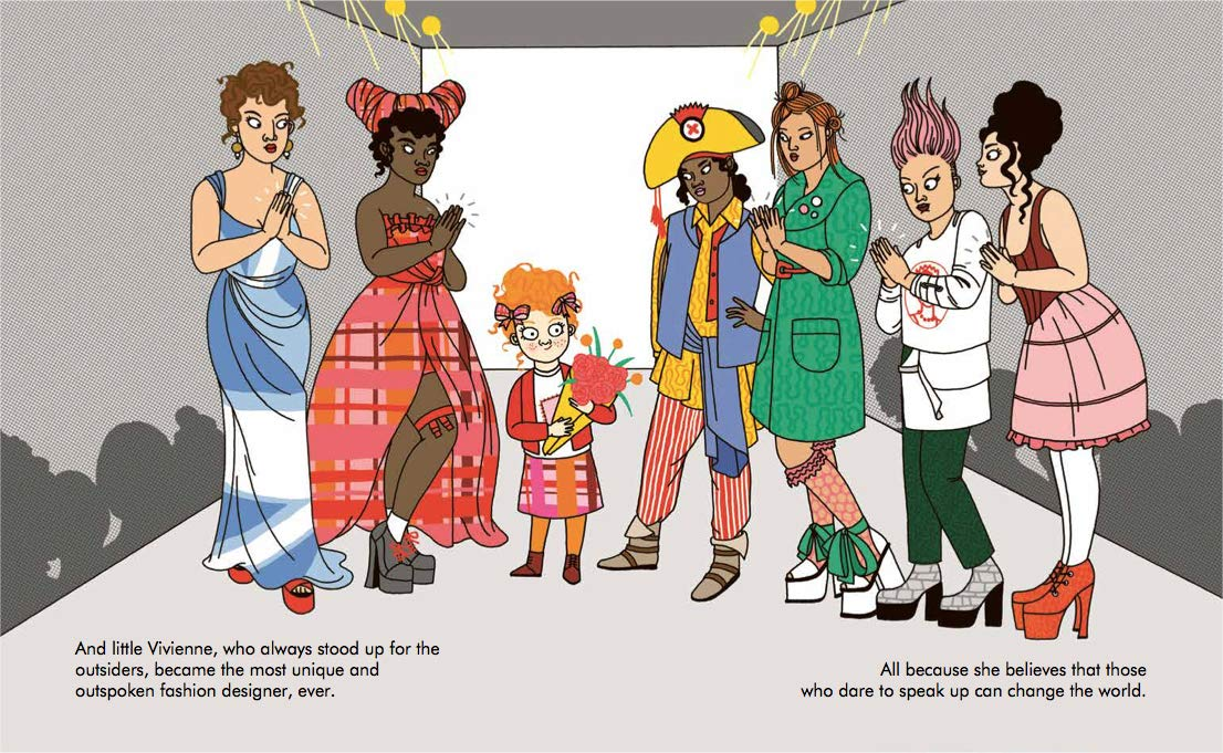 小女孩大梦想:维维安·韦斯特伍德 英文原版 Vivienne Westwood 名人传记 Little People, BIG DREAMS优惠券