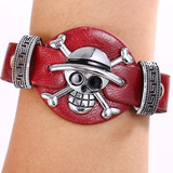 Game Periphery One Piece Luffy One Piece Logo Bracelet Retro Punk Bracelet Bracelet Bracelet
