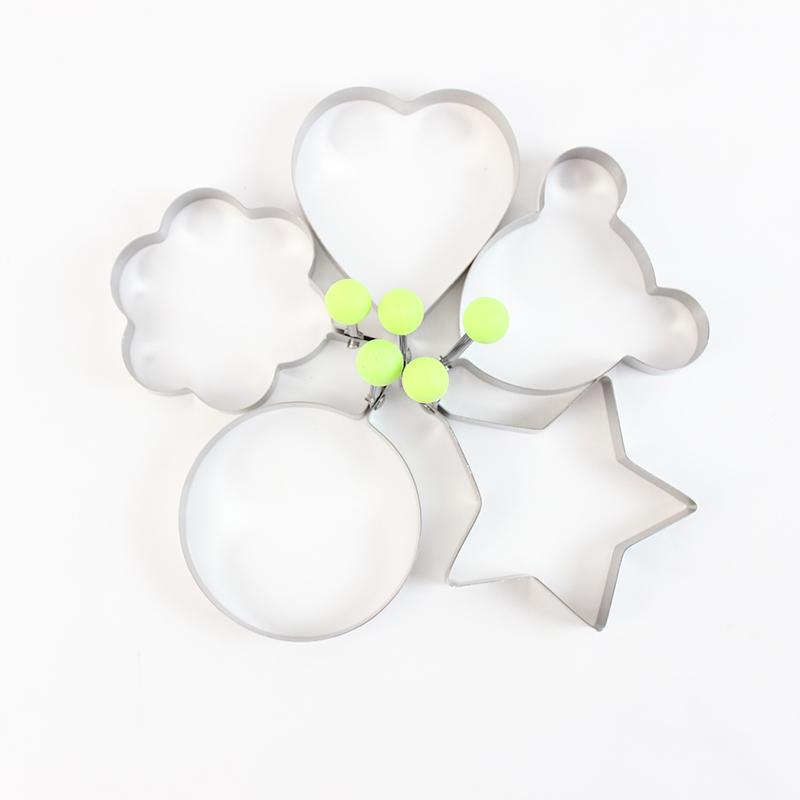 不锈钢煎蛋器 创意厨房小工具 星星煎蛋模具DIY小工具 爱心煎蛋器