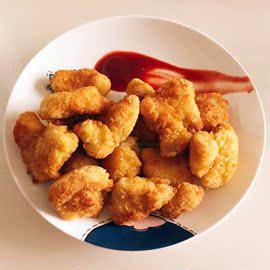 整箱三统万福柠檬味新盐酥鸡台湾鸡米花冷冻半成品鸡块西餐厅油炸
