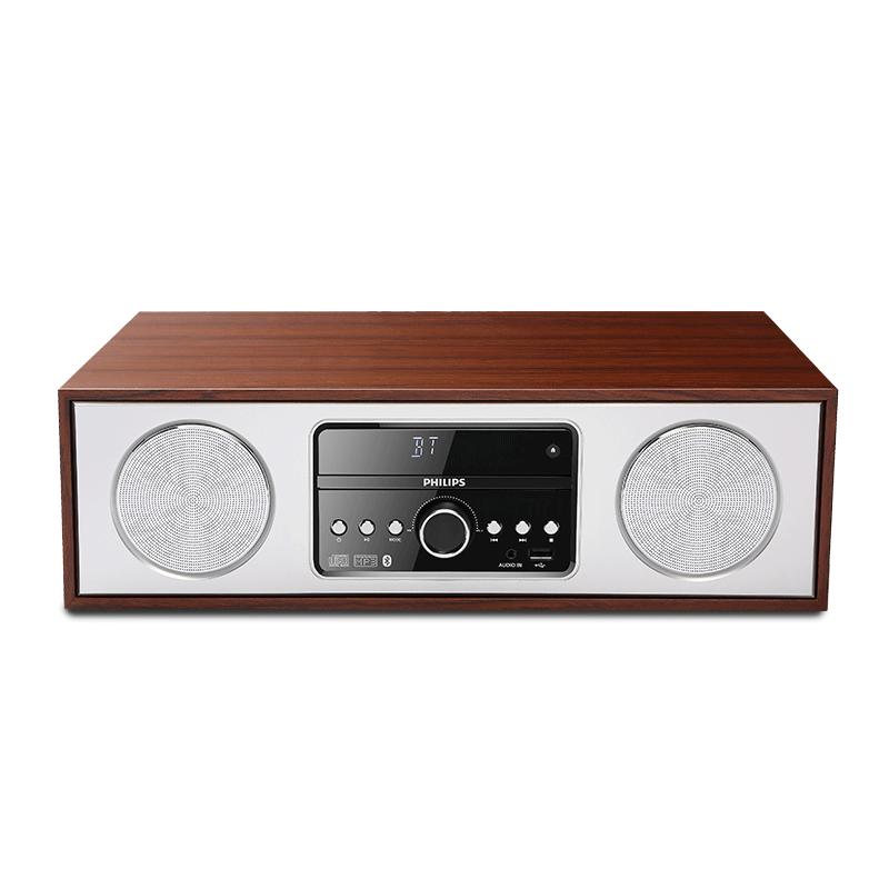 飞利浦CN-DTM380/93无线蓝牙CD组合迷你桌面台式HIFI电脑音响音箱