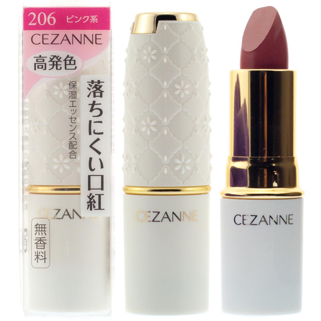 [淘寶網] CEZANNE 日本倩麗 氣質潤彩脣膏 高保溼持久不脫色補水滋潤口紅
