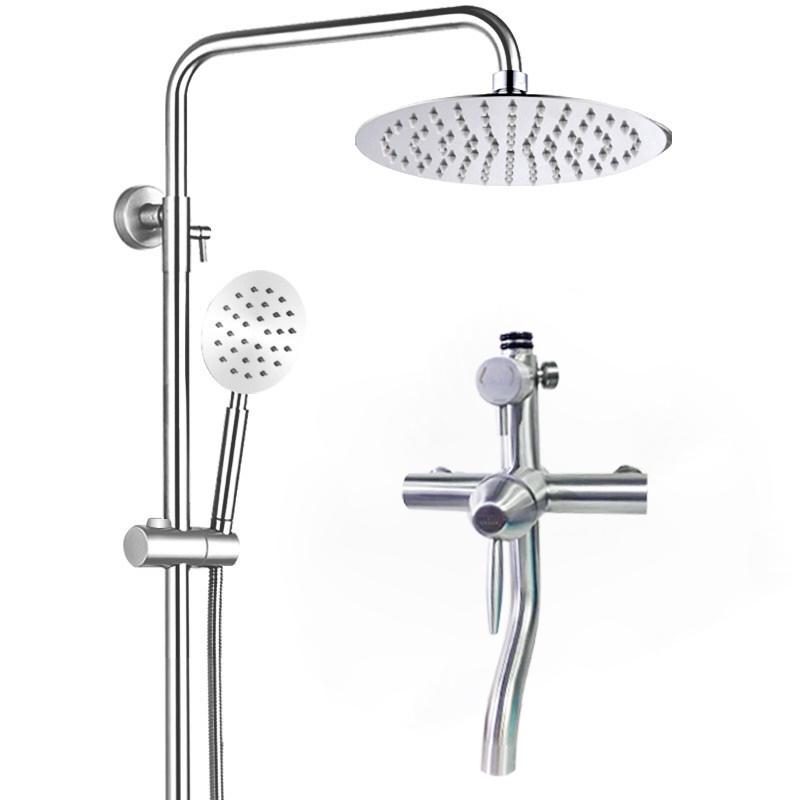 234253 不锈钢浴室淋浴器增压恒温沐浴花洒淋雨 304 苏泊尔花洒套装