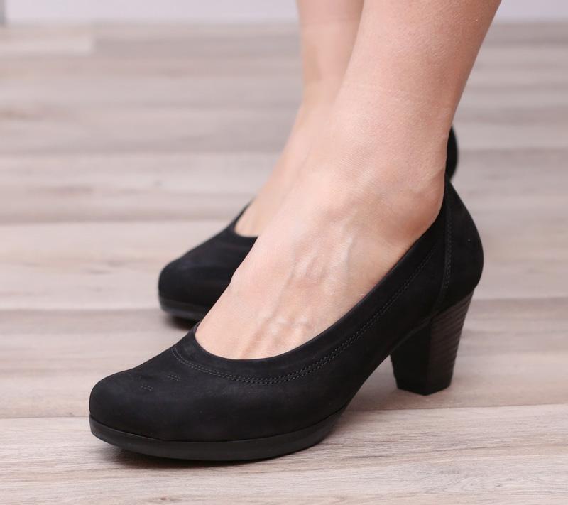 不磨腳 寬楦G版 嘉寶女鞋 GABOR 02.080  寬楦中跟女鞋單鞋