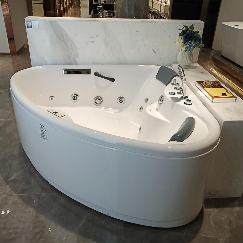 安华浴缸双人情趣电脑按摩浴缸亚克力情侣1.6米超大家用成人冲浪
