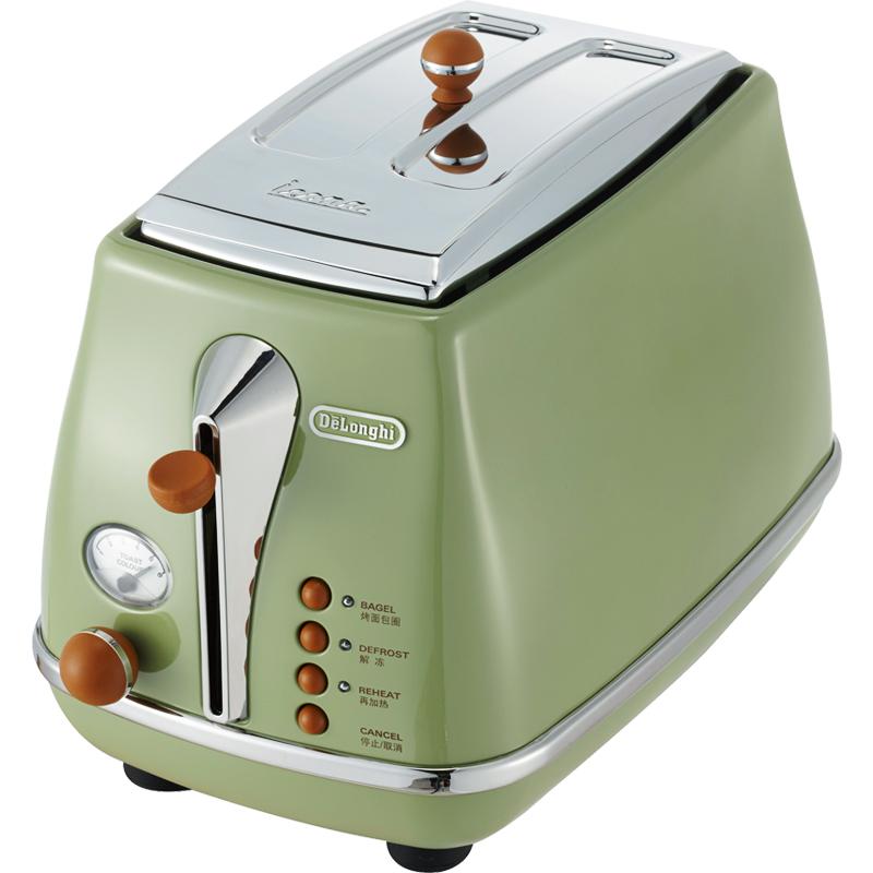 黑西瓜 Delonghi/德龙CTO2003烤面包机多士炉全自动早餐家用吐司