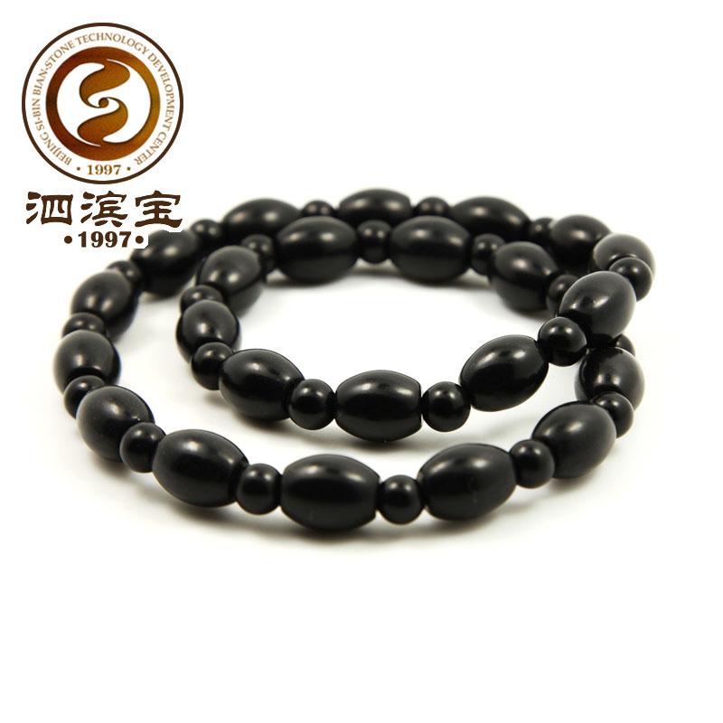 泗滨宝泗滨砭石女项链  时尚项链颈串 砭石项链 颈部使用