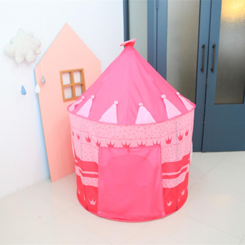 儿童帐篷室内小孩房子公主城堡屋宝宝游戏屋蒙古包玩具幼儿园礼物