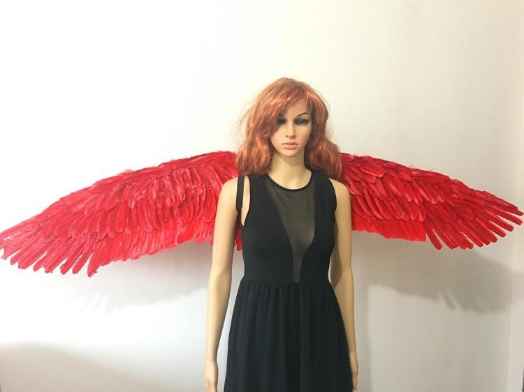 新款黑色羽毛翅膀恶魔翅膀 cosplay道具可随意造型圣诞精品