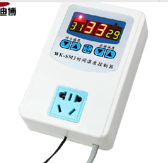 全自动智能数显温控器爬虫保温箱水族陆龟、养殖温度控制开关插座
