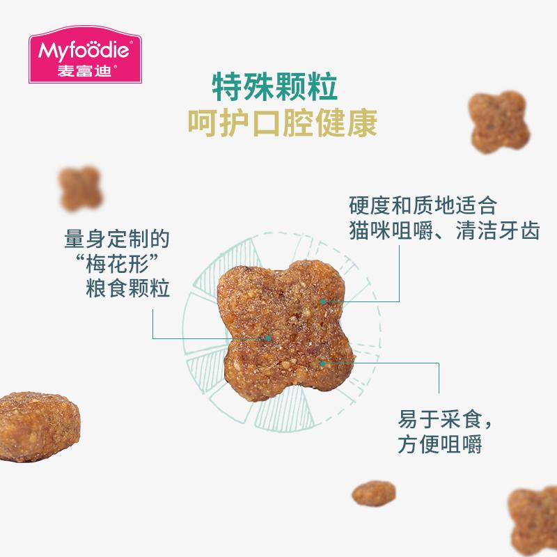 麦富迪猫粮三文鱼油成猫猫粮10kg猫咪主粮美毛40英短美短20斤包邮优惠券