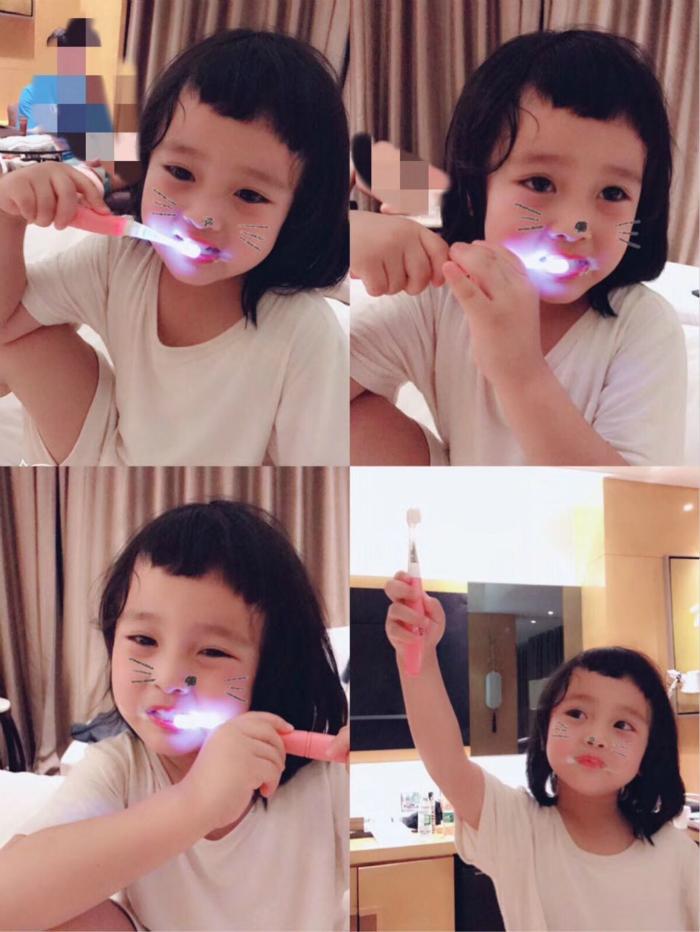 现货日本进口SunStar巧虎儿童宝宝电动牙刷替换训练刷头耗材配件