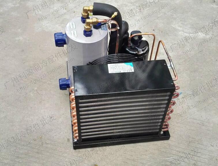 三菱1P 1.5 2 3匹  鱼池冷水机组 海鲜 鱼缸 制冷机 工业冷水机