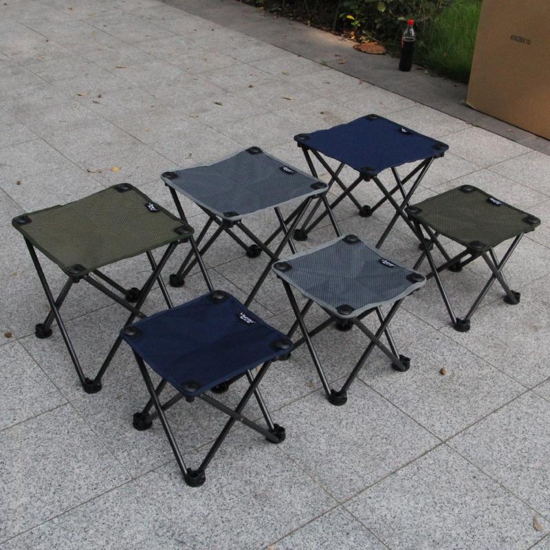陆德狼超轻便携式折叠凳子户外折叠椅坐火车小马扎钓鱼写生椅子