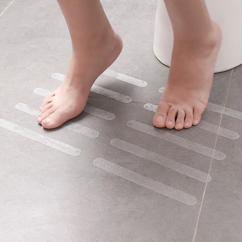 浴室防滑贴浴缸防滑贴厨房瓷砖台阶自粘式贴条楼梯防滑条胶条地垫 No.1