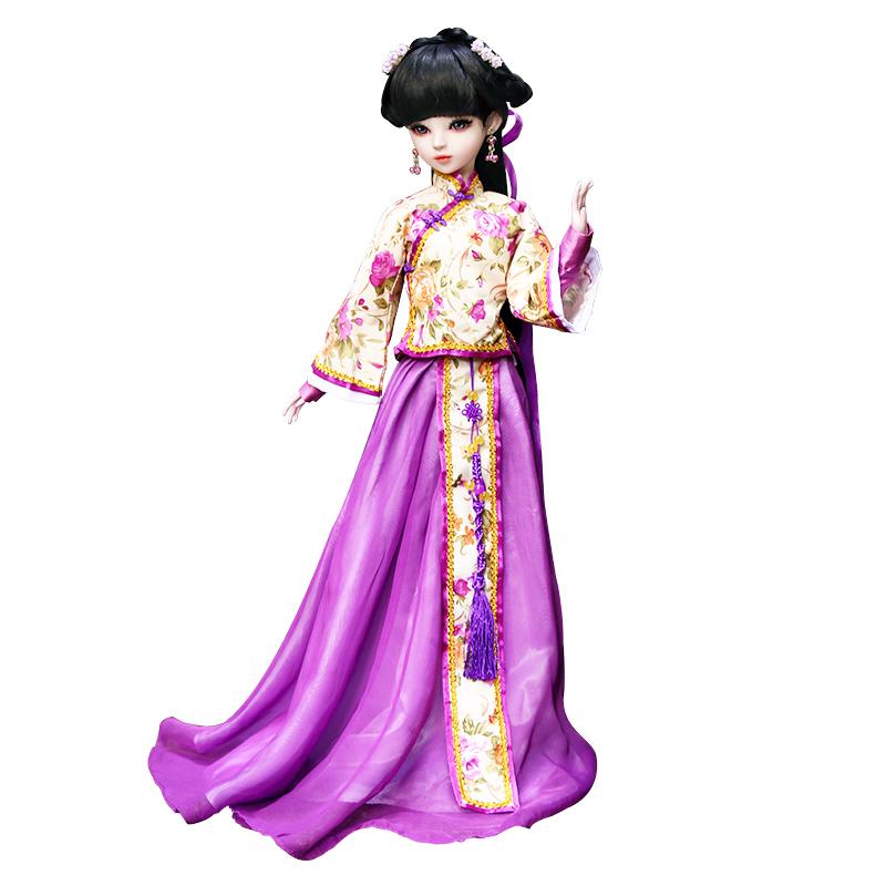 60厘米娃之恋宫廷三生三世白浅凤九同款古装古代风sd关节换装娃娃