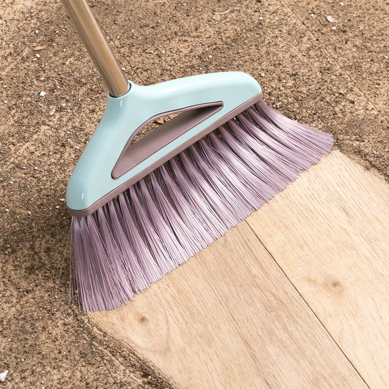 居家家带刮齿簸箕扫把套装扫地清洁工具家用笤帚软毛扫帚撮箕组合
