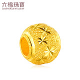 Pre-sale Luk Fook Jewellery Pure Gold Starry Road Lutong Transit Beads Gold Beaded Pendant B01TBGP0012