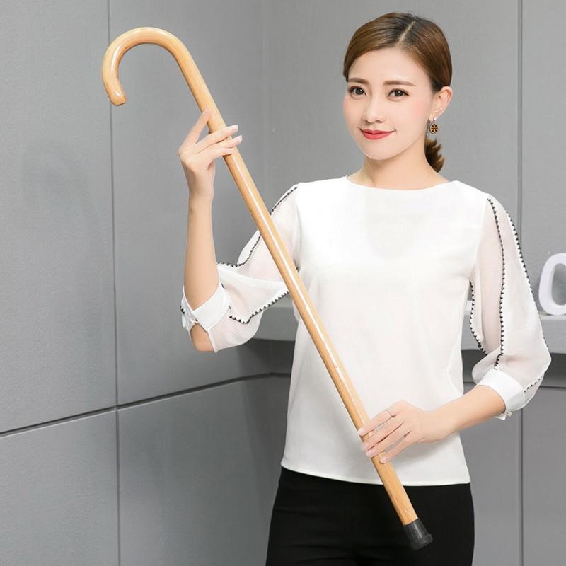 實木質柺杖老人用登山爬山防滑竹木頭柺棍手杖老年多功能防身捌杖
