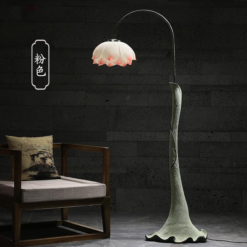 创意中式落地灯客厅卧室古典装饰床头灯立式温馨美容护眼落地台灯