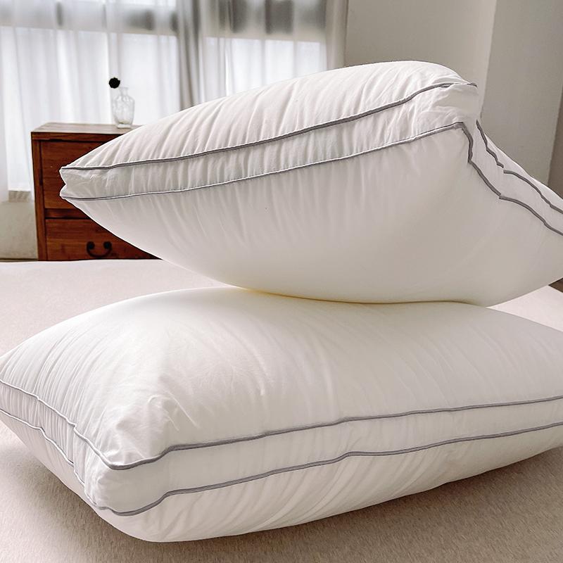 好舒服的一只 柔软高弹舒睡枕 丝绵枕芯 宿舍单人枕头靠枕 单个装