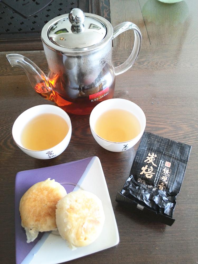 礼品盒装 500g 刮油去脂健康茶 炭焙浓香型铁观音 特级油切黑乌龙茶