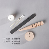 DIY leather production tool set hand-stitched edging Edge basic tools