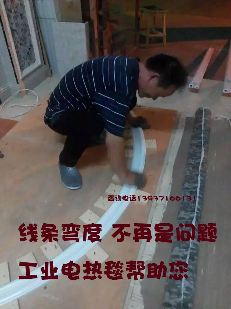 石塑仿大理石装饰背景墙线条工业热弯毯工具弯曲器木塑木竹木纤维