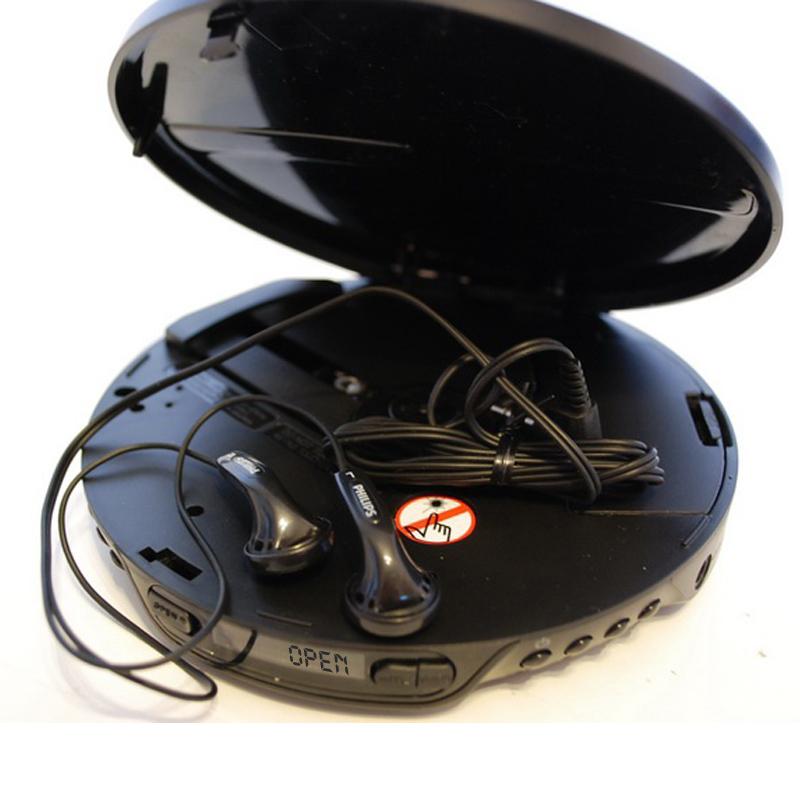 原装港行正品飞利浦CD机随身听大学英语MP3光盘便携播放器送电源